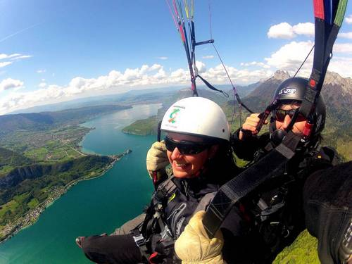 Paragliding Annecy - Parapente Annecy