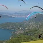 ecole parapente lac annecy paragliding