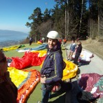 beginner course paragliding