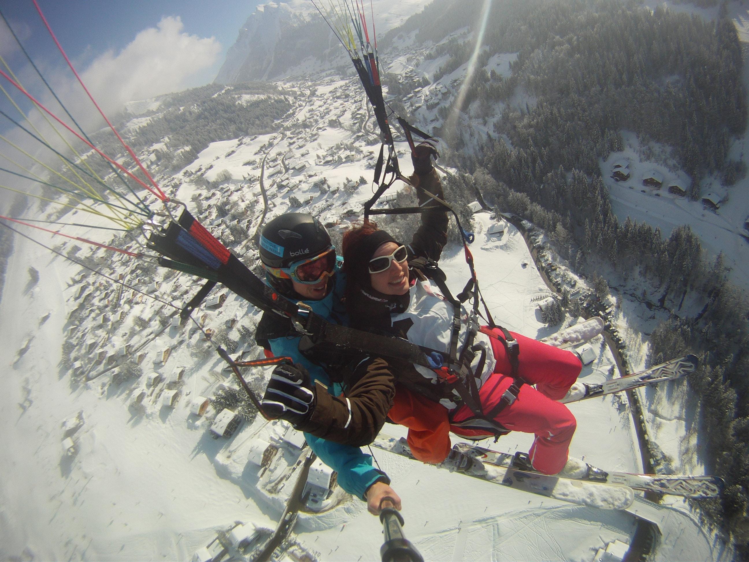 Ski - parapente Annecy