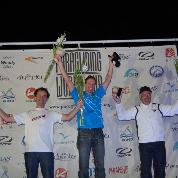 vice champion du monde parapente