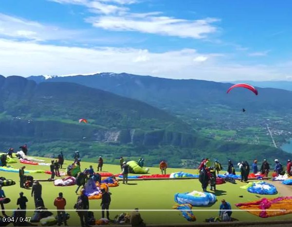 video parapente annecy
