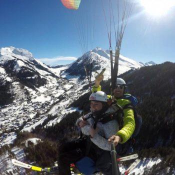 Baptême ski Parapente Annecy