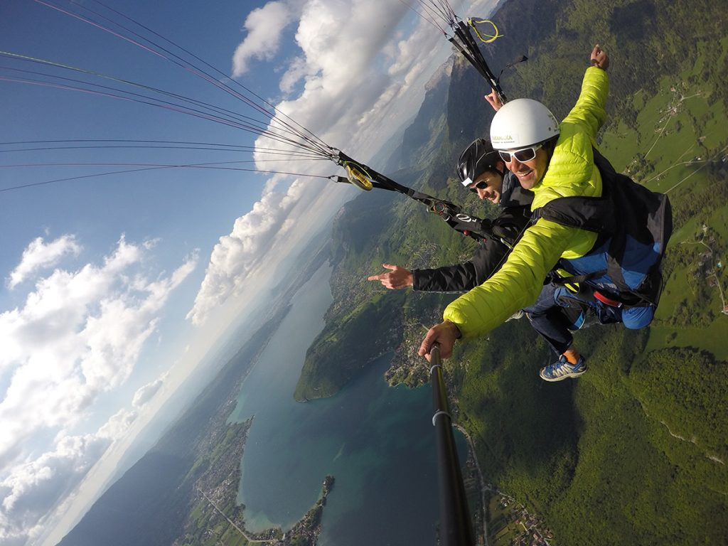 Photo parapente annecy