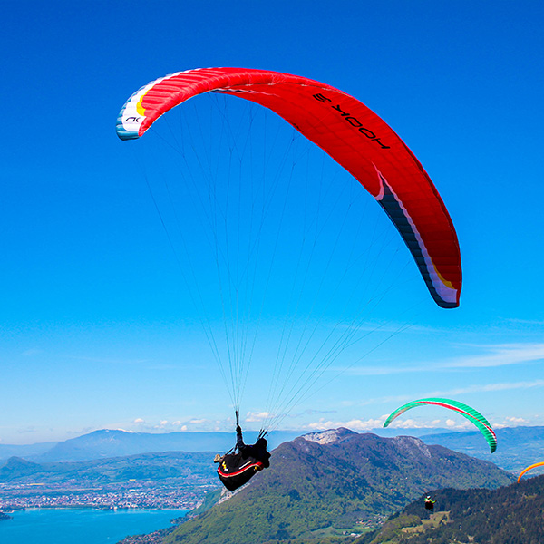 Stage parapente progression