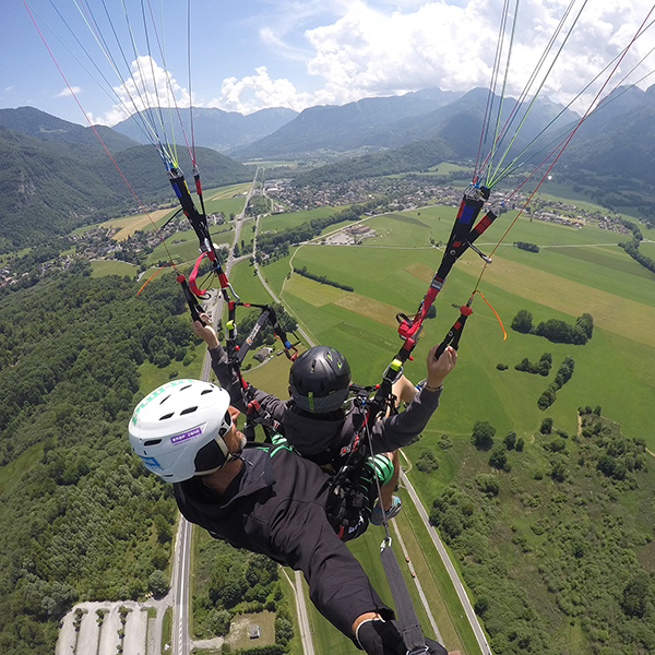 Paragliding Annecy gift idea